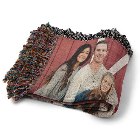 Icon Woven Photo Blanket