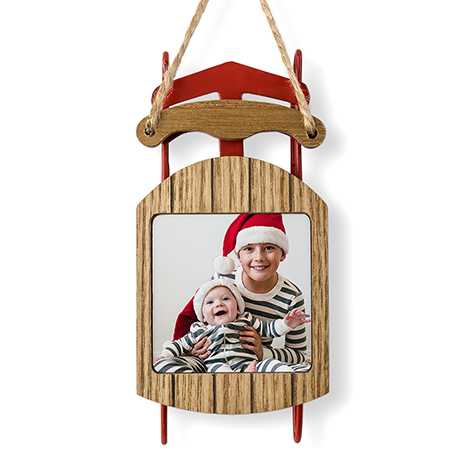Icon Sled Ornament