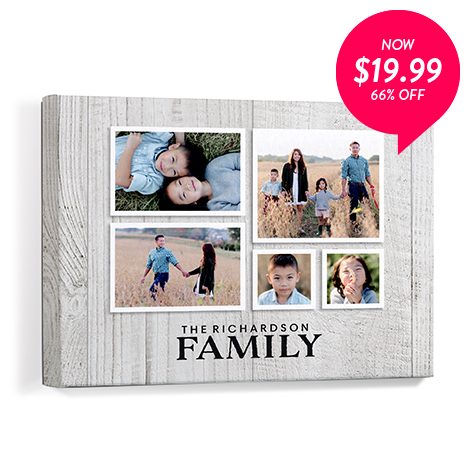 66% off 11x14 Canvas Prints