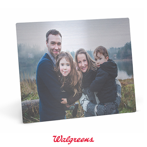 Metal Photo Panel - Pick up at Walgreens