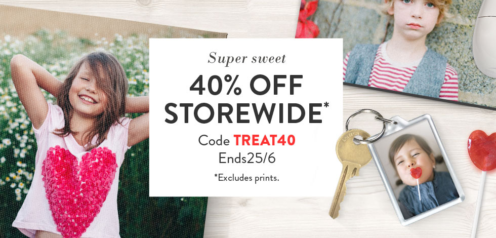 Store (*excludes prints)