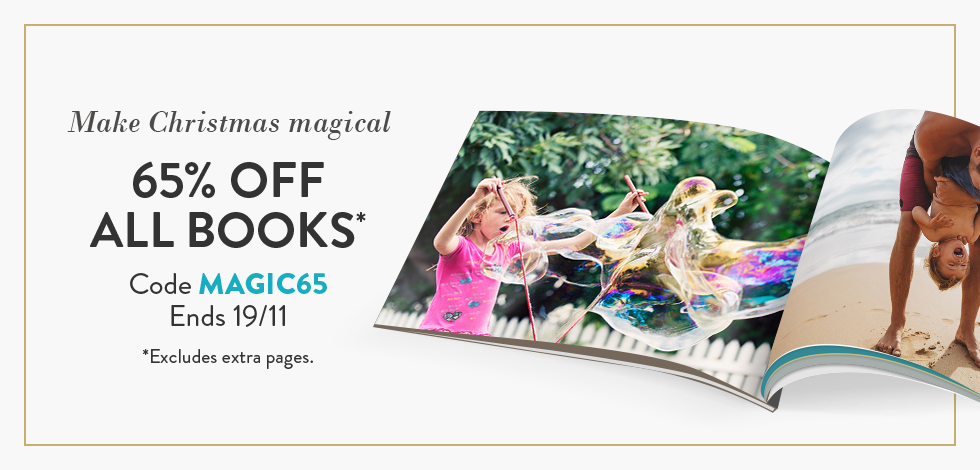 65% off all Books