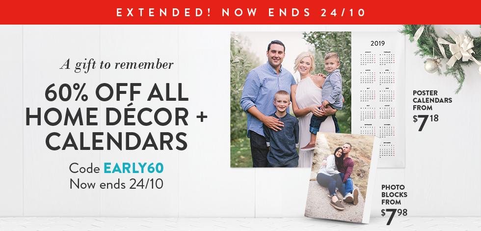 60% off all Home Decor