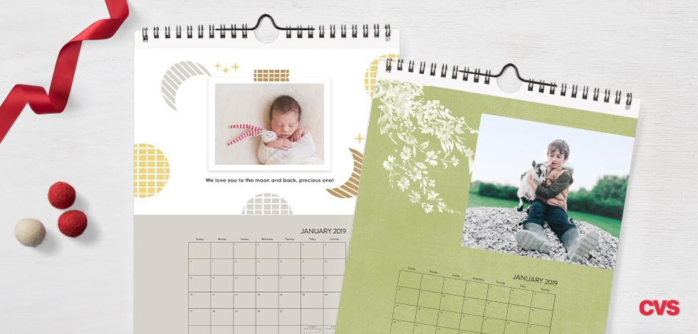 8x10 Single-sided Wall Calendar