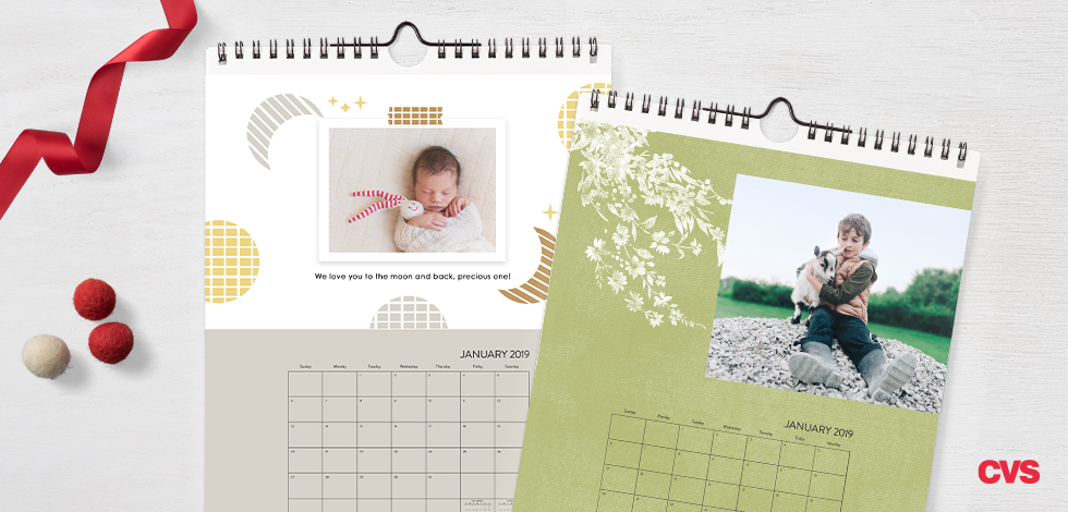 8x10 Single Sided Wall Calendar