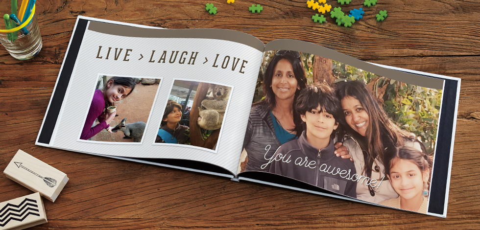 how to make a snapfish photo book