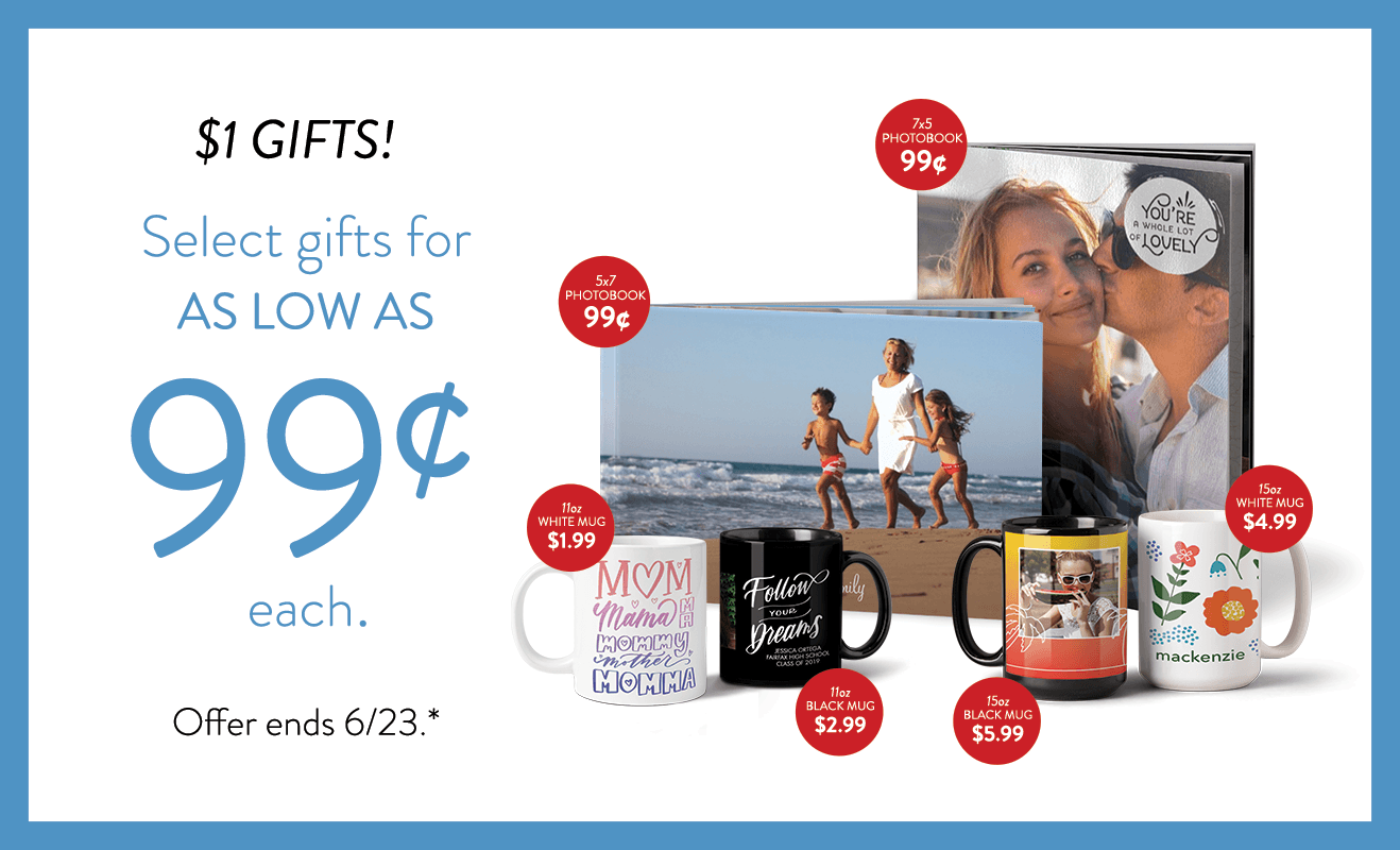 Dollar Gifts! Gifts as low as 99¢