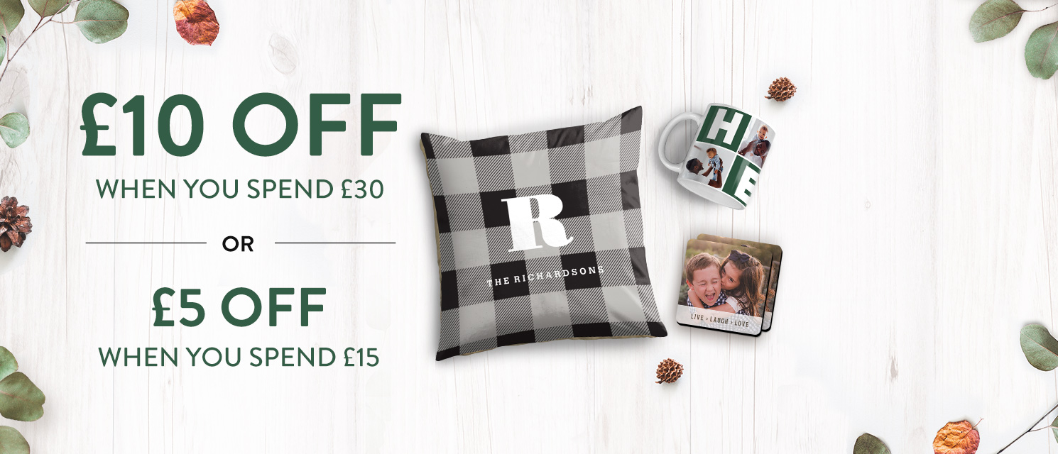 Up to £10 off everything!