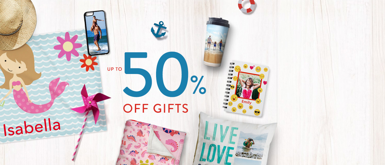 Up to 50% off Gifts!