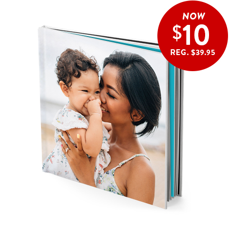 20x20cm hardcover book only 10 dollars with code BOOK10