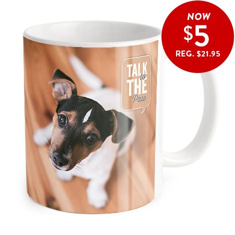 Coffee mug only 5 dollars with code MUG5