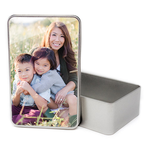 Personalised Rectangular Tins