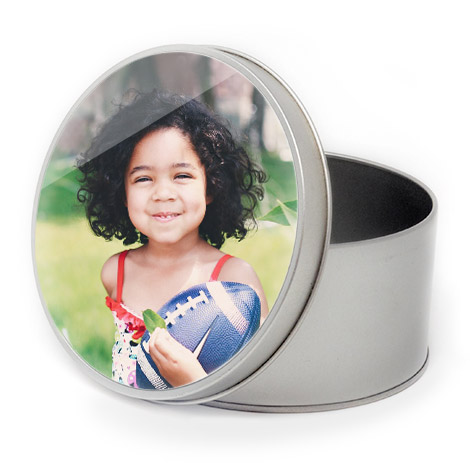 Personalised Round Tins