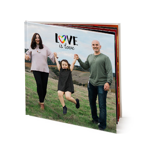 "12x12"" Square Photo Book"