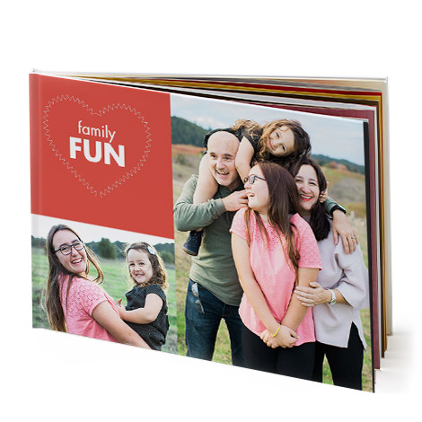 Photo Book Image With Family