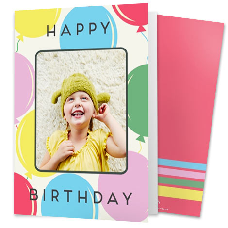 Card Image With A Girl