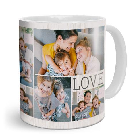 Photo Mugs Print Personalised Collage