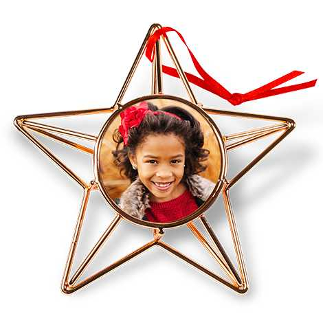 Icon Copper Wire Star Ornament