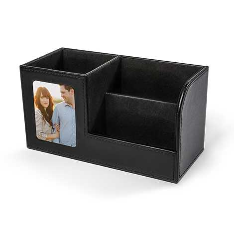 Icon Leatherette Desk Set