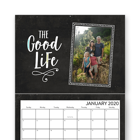 Premium Stationery Wall Calendar