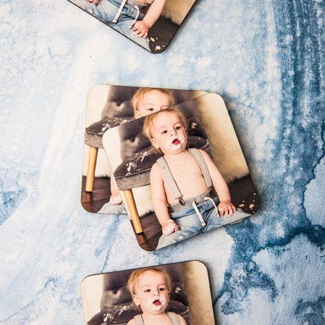 Cute custom coasters