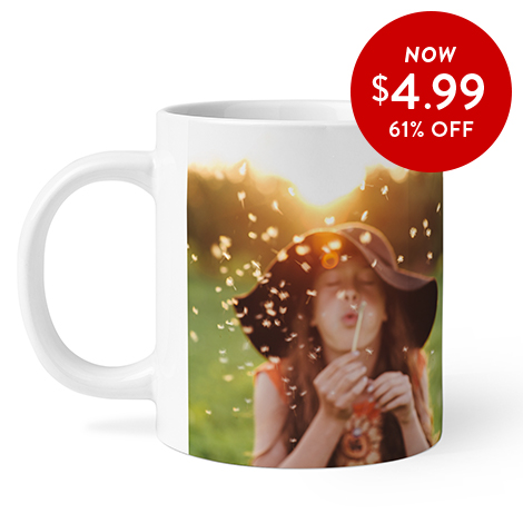 61% off 11oz. Photo Coffee Mugs