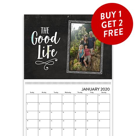 Buy 1 Calendar, Get 2 FREE