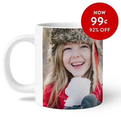 92% off 11oz. Photo Coffee Mugs