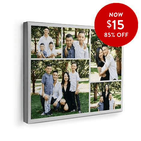 85% off 16x20 Canvas Prints