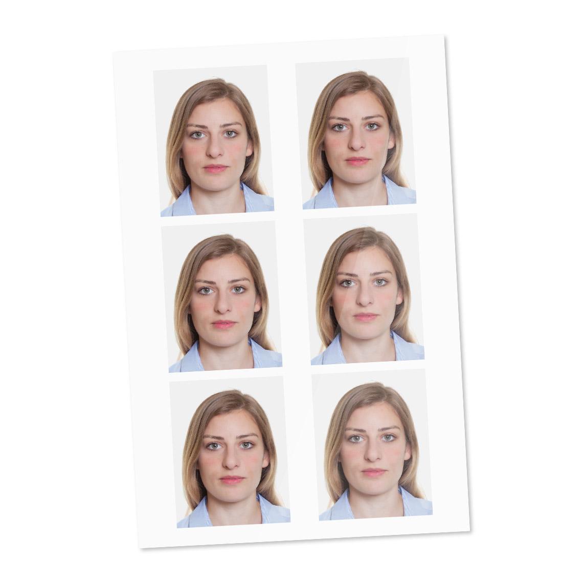 Icône photo de passeport