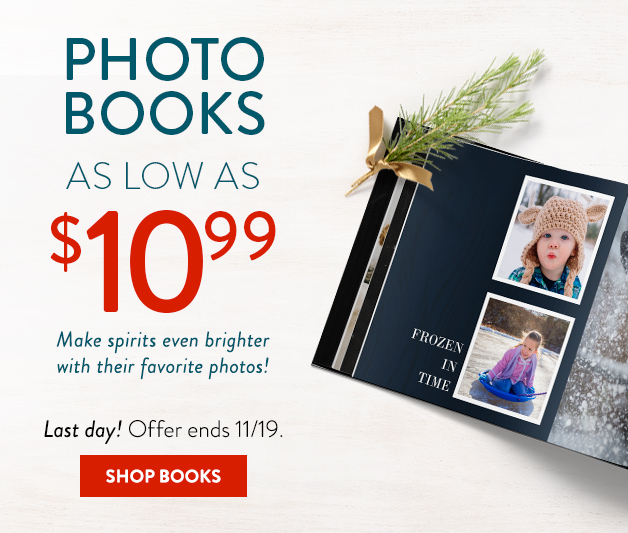 Books as low as $10.99