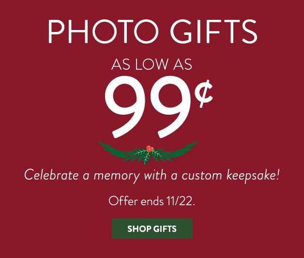 gifts as low as 99cent