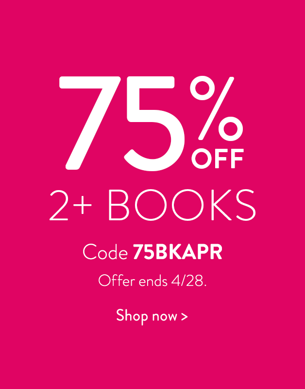 75% off 2 or more books