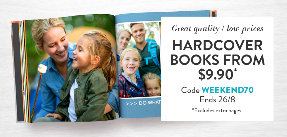 Hardcover Books from $9.90*