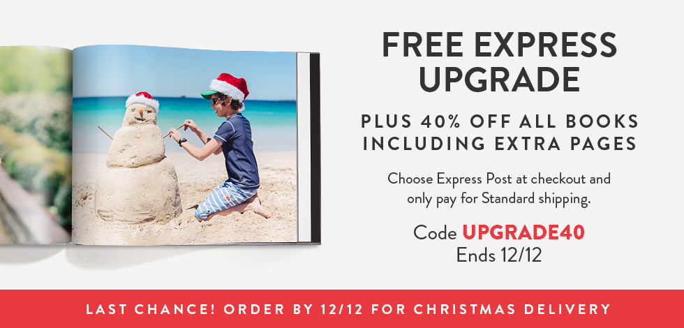40% off + free Express upgrade on all Books