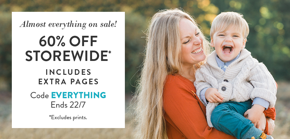 60% off almost everything storewide*