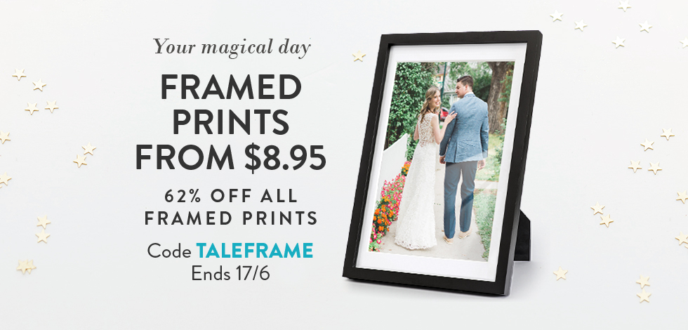62% off all Framed Prints