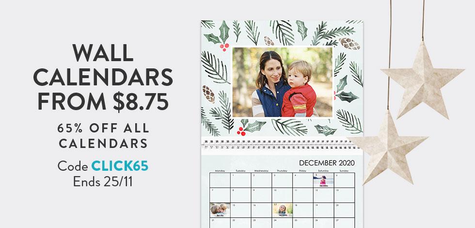 65% off all Calendars