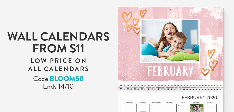 Wall Calendars from $11