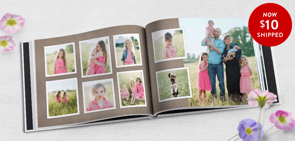 75% off 8x11 Hardcover Photo Books + Free Shipping