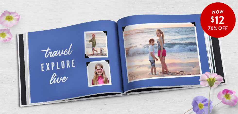 70% off 8x11 Hardcover Books