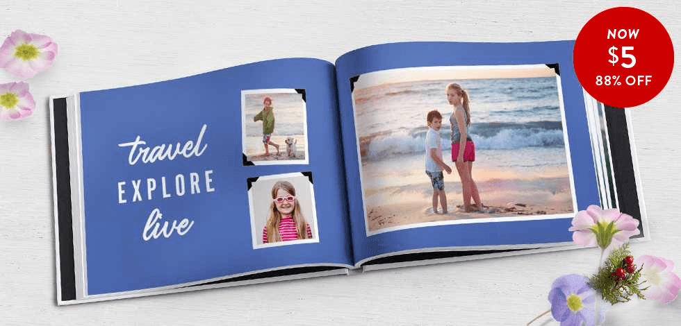 88% off 8x11 Hardcover Books