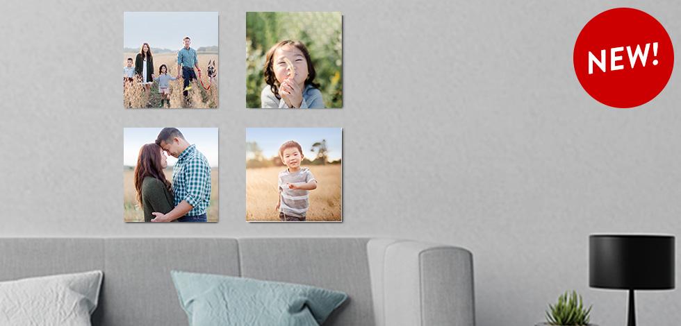 NEW! 8x8 Photo Tiles