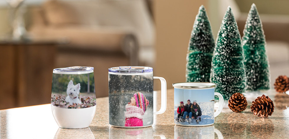 NEW! Personalized Drinkware
