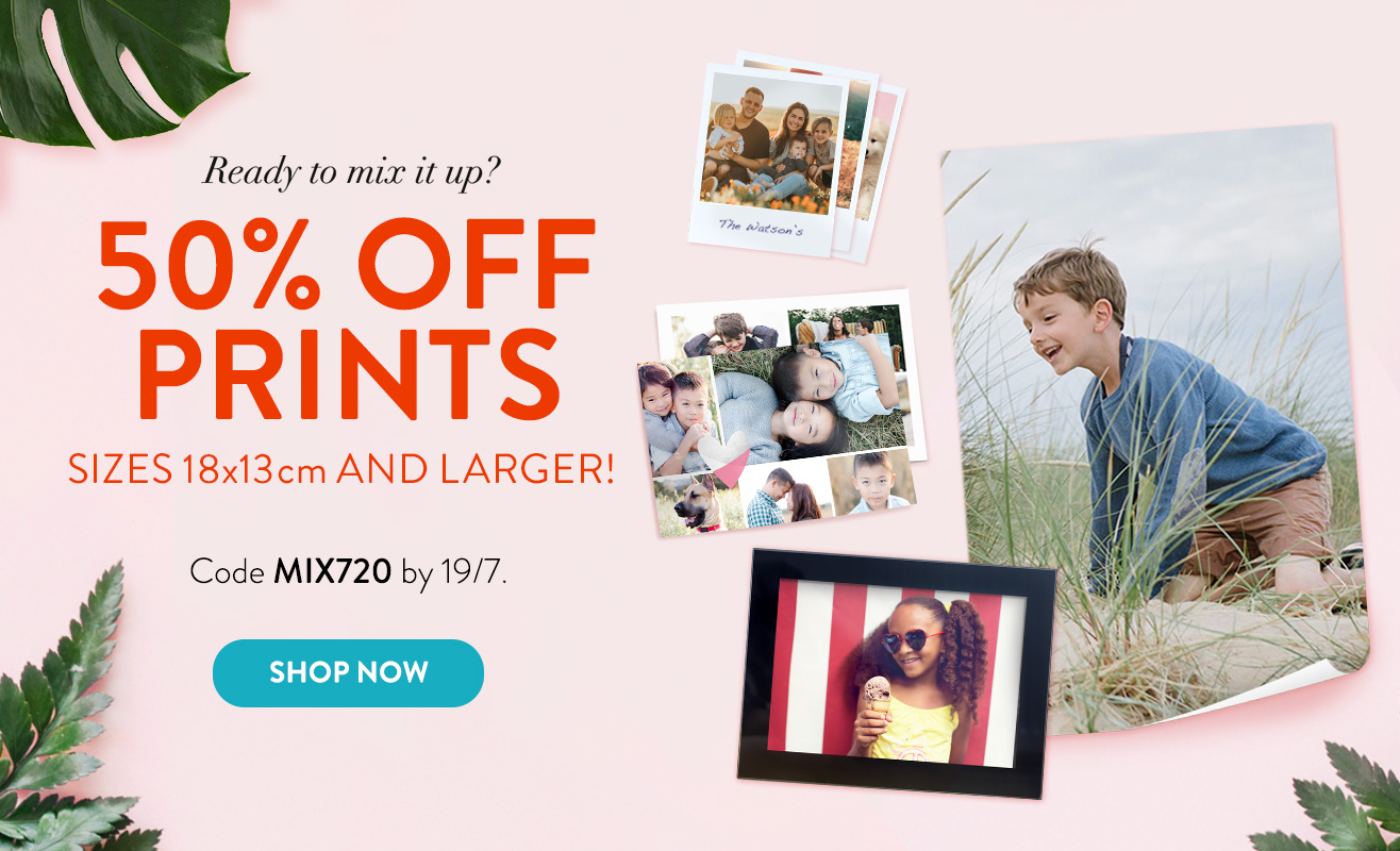 50% off Prints!