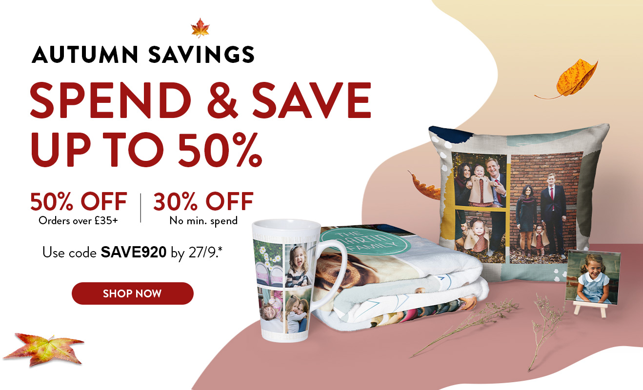 Up to 50% off Everything!