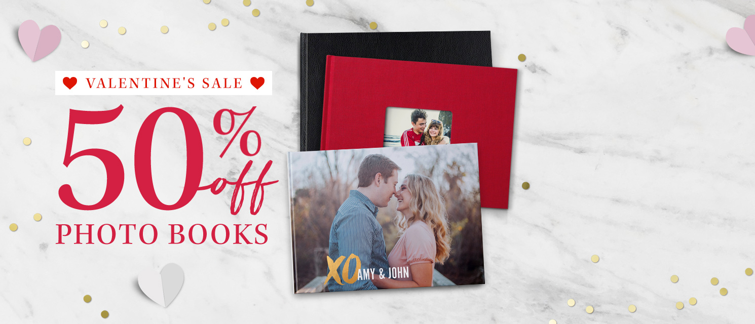 50% off Photo Books!