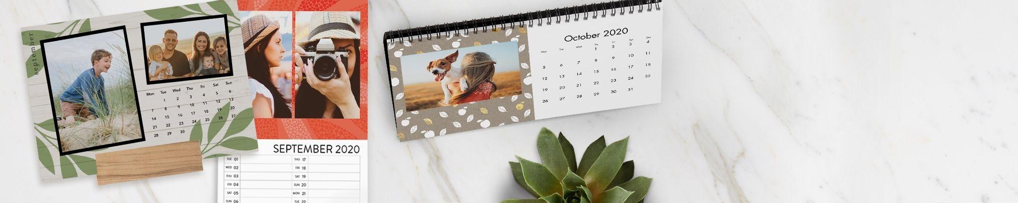 2021 Personalised Calendars