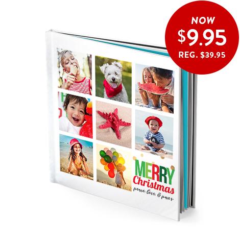 20x20cm hardcover photo book