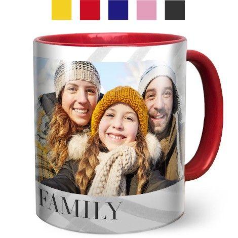 Coloured Coffee Mugs 11oz